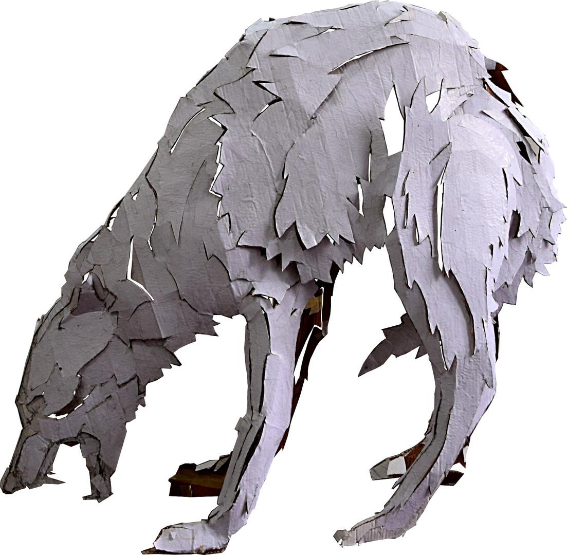 hund, aus Installation Zweifel