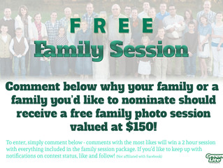 Free Family Session!
