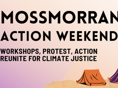Mossmorran Action Weekend: Camp, Rally or join us Online