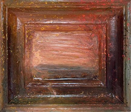 'Shepherds delight' framescape painting