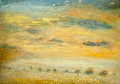 Longest day, Sunshine on the Downs, Starry skies, Meadows, wildflowers, chalk path, beacon,