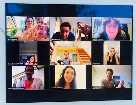 """Session PPG en visioconférence pour l'équipe """"Maîtres"""""""