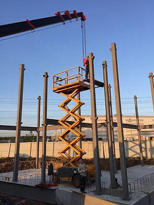 построить ангар из металлоконструкций москва и московская область