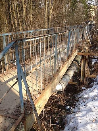 ремонт старого моста