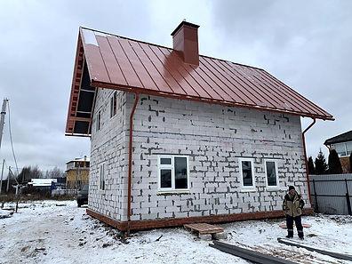 Строительство коробки дома Московская область