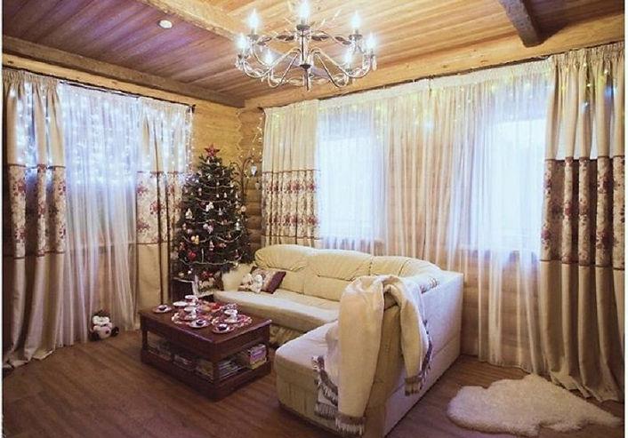 внутренняя отделка деревянного дома под ключ