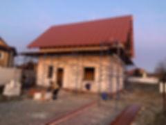 строительство коробки дома из газоблоков цена