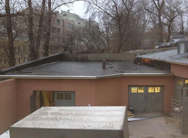 ремонт крыши гаража мягкая кровля