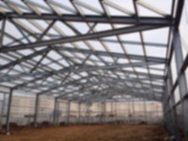 построить ангар с металлическим каркасом московская область