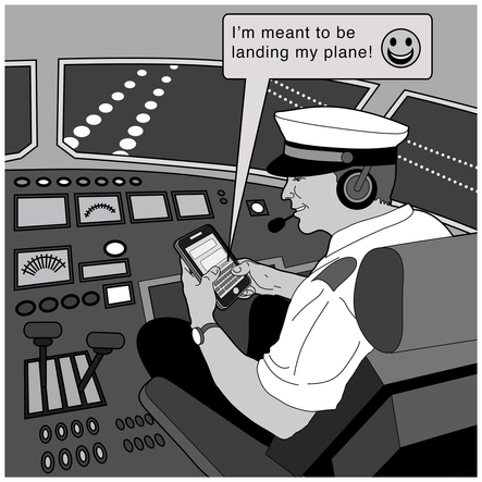 Texting While Flying
