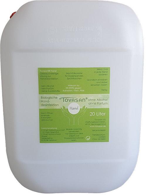 Tovasan® Hand 20 Liter Nachfüllkanister