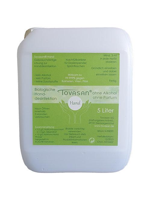Tovasan® Hand 5 Liter Nachfüllkanister