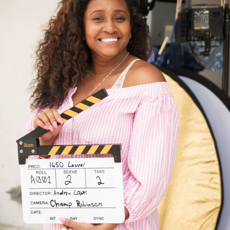 Director & writer Andrea Lewis takes us behind the scenes