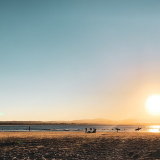 Sunsets in Byron Bay