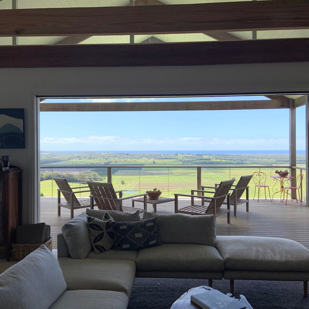 Relax and enjoy views of Byron Bay