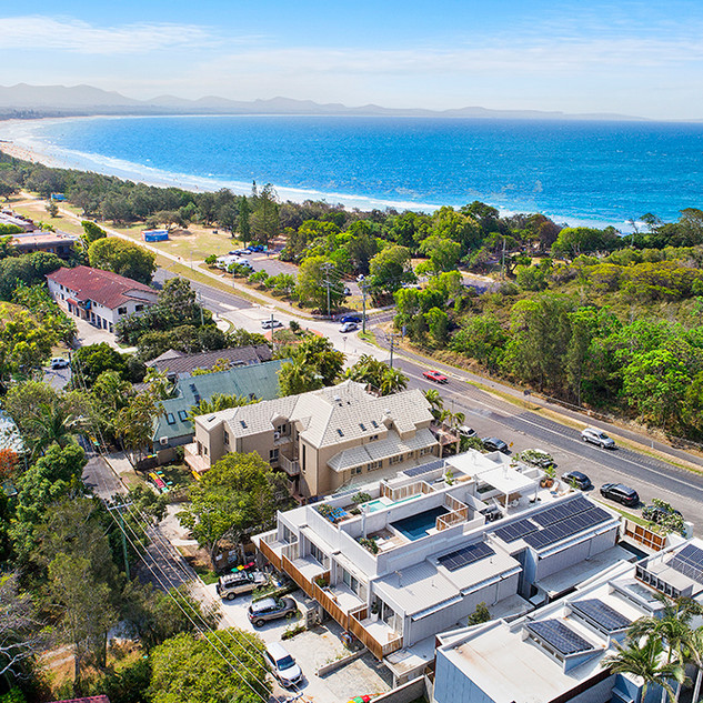 Walking distance to Byron's famous beaches and town centre