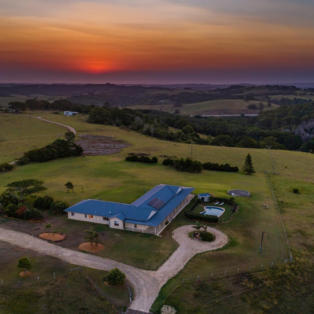 24-acres with rural and coastal outlook