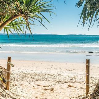 Clarkes Beach close by