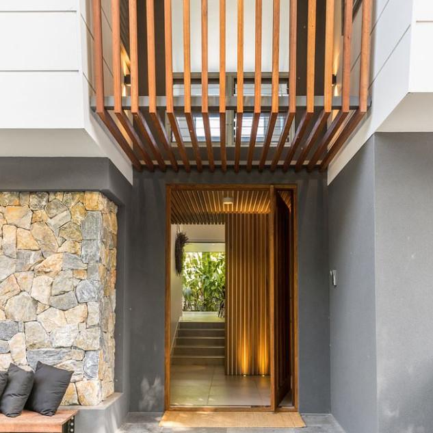 Entrance into Maison De Belongil