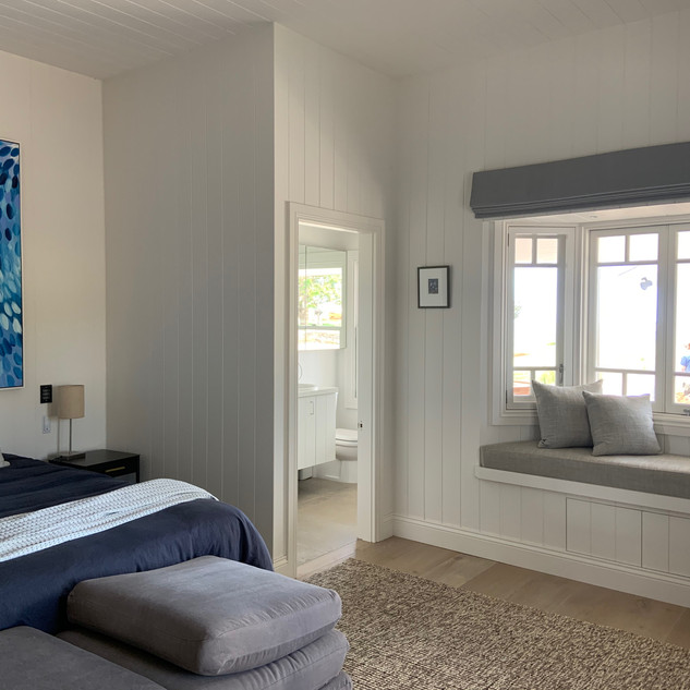Bedroom 2 with ensuite and built-in robs