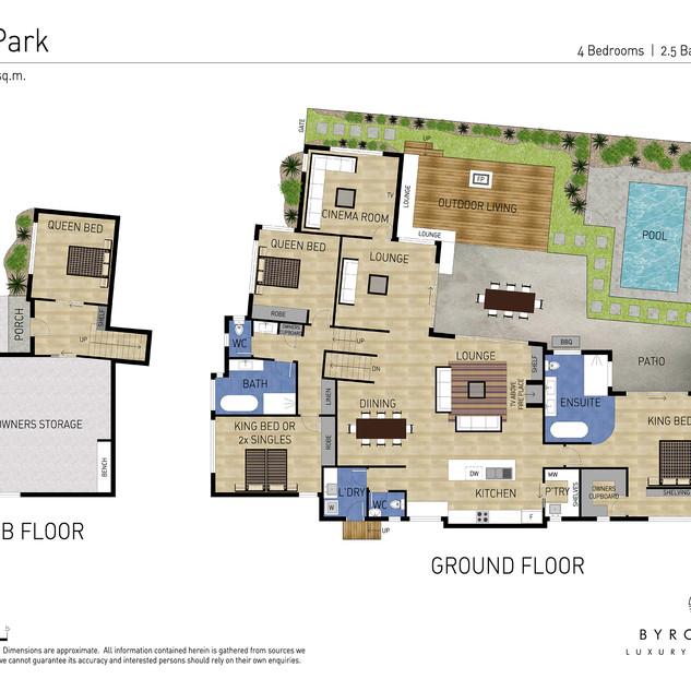 Floor plan of Cooper Sands