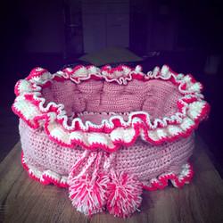 Bettchen in Pink-rosa