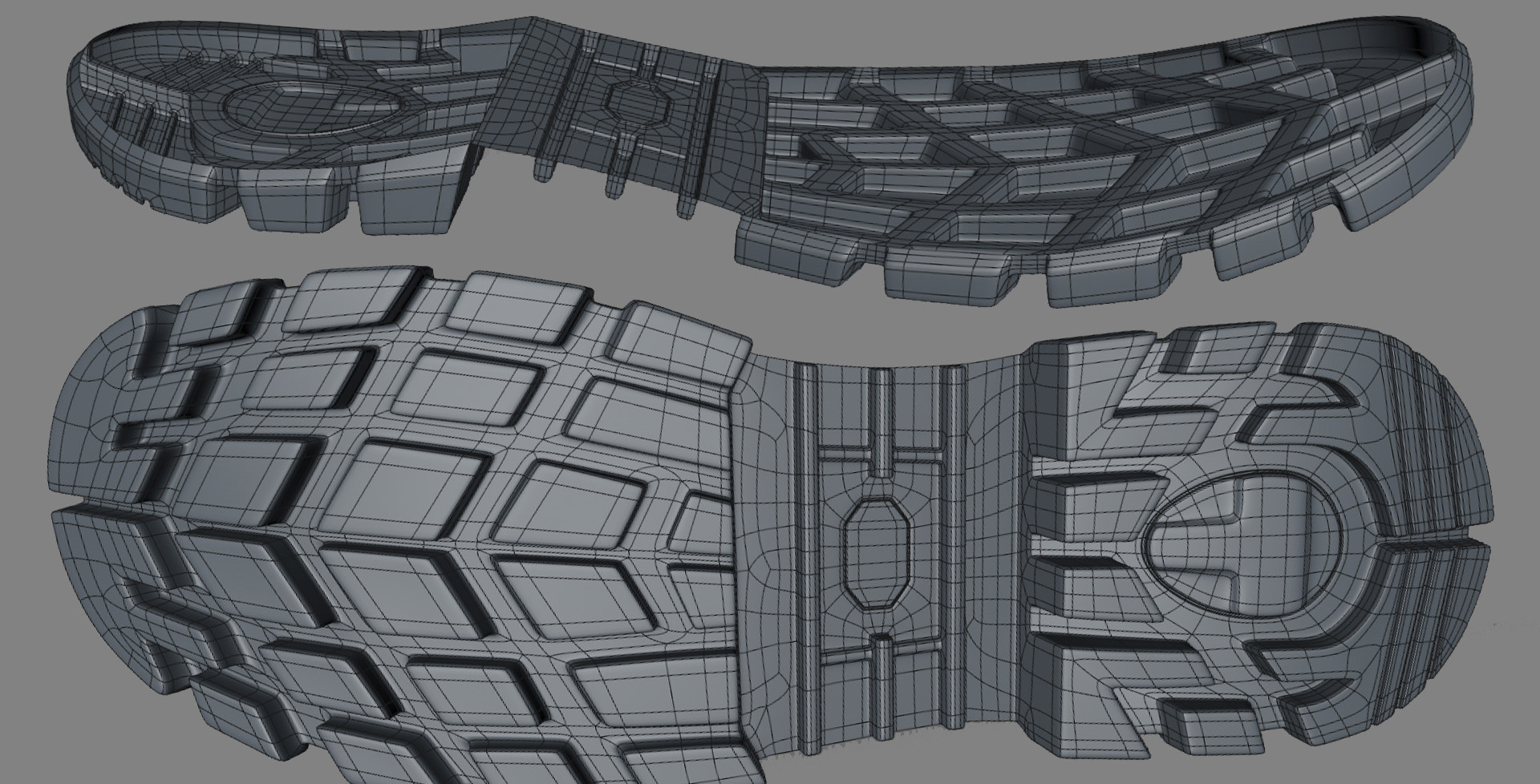 Extruded the sides outwards and reworked some of the topology.