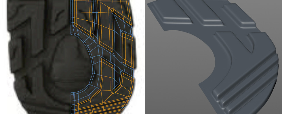 Beginning with the sole, laying out the topology flat before adding extrusion.