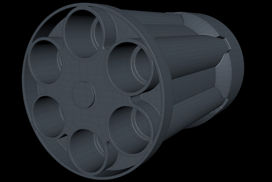 I used the Bevel tool in Solid mode to add sharpening cuts and the result under subdivision looks pretty smooth.