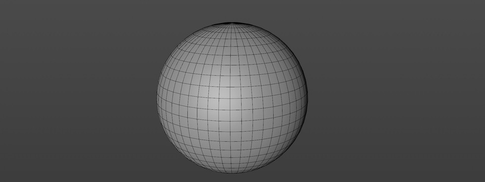 Started with a Sphere object