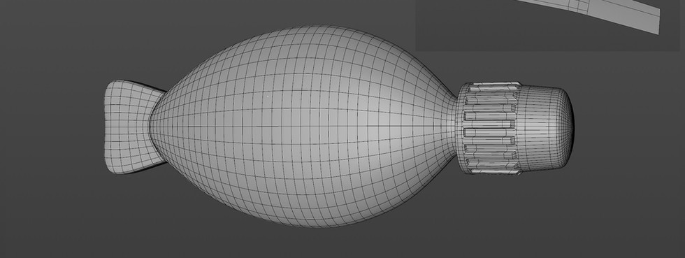 Created the cap using a small section in an Array object.