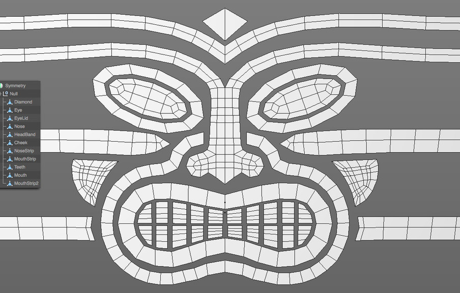 Using Symmetry is also a really important as it saves a tonne of time and ensures the model is perfectly symmetrical.