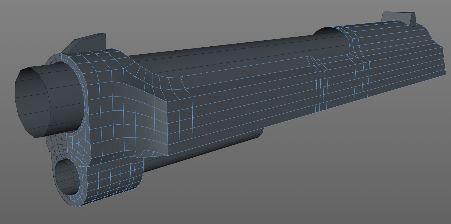Further progress with the slide. Keeping good edge flow to allow for easy sharpening.