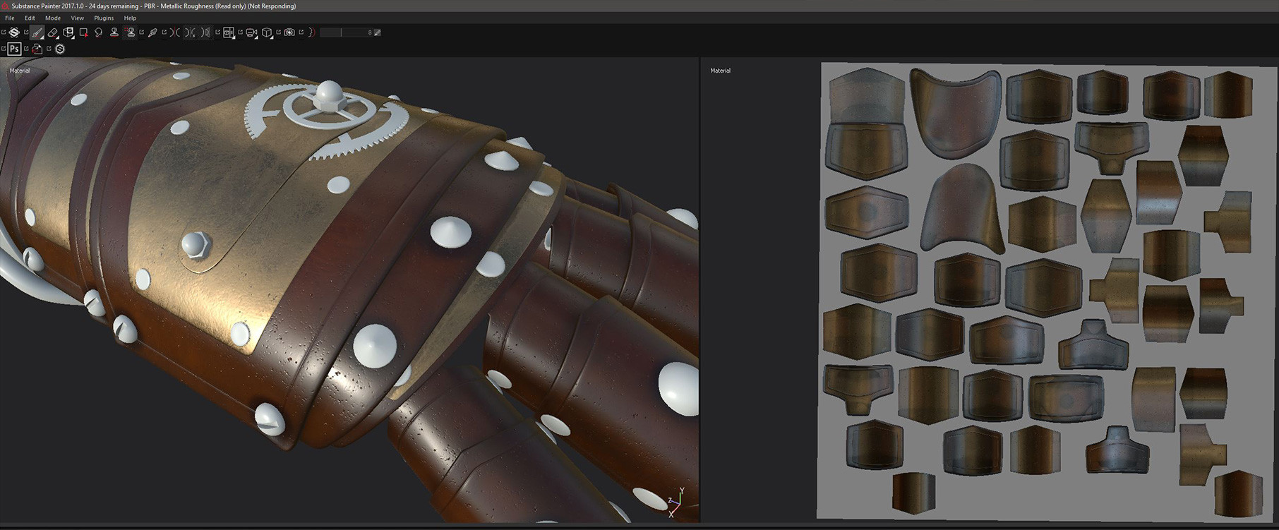 By switching to multiple UV maps in 3D Coat the result in Substance Painter was a much higher resolution. Substance painter created a new Texture Set for each section (based on materials that were automatically created for each individual map in 3D Coat).