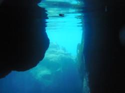 Underwater Cave in Coron