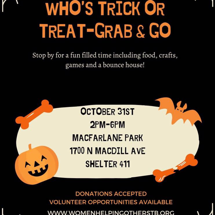 WHO's 2nd Annual Trick or Treat-Grab & Go (Volunteer Only)