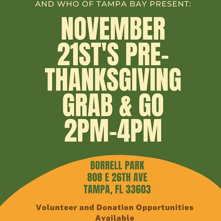 November 21st's Pre Thanksgiving Grab & Go