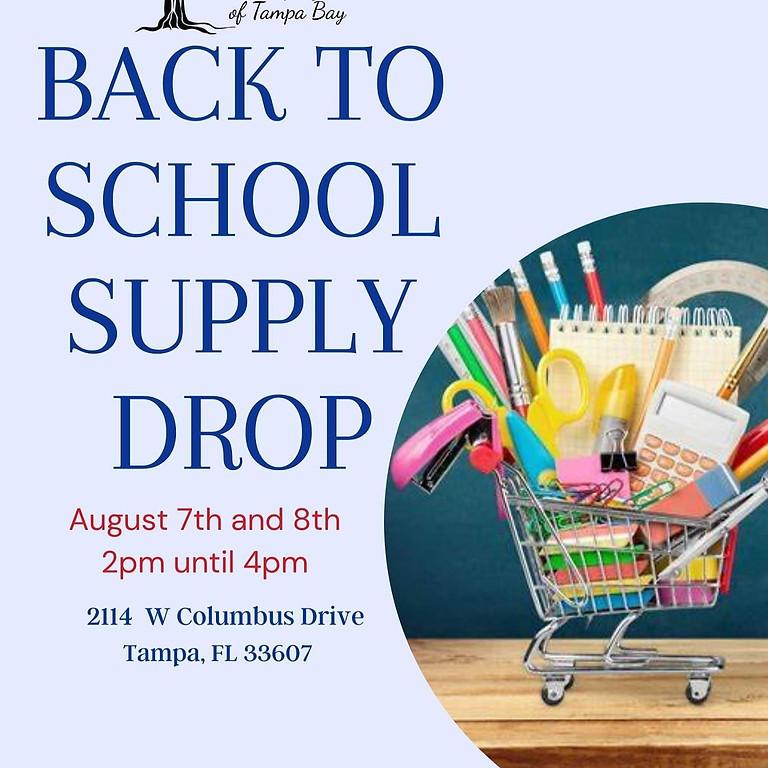 Back to School Supply Drop