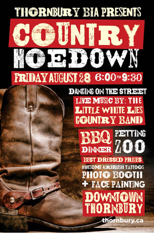 Thornbury Hoedown next Friday!