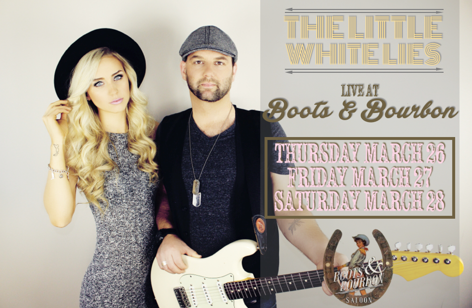 Boots and Bourbon all weekend long!!