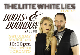 Boots and Bourbon in Toronto on March 5th!