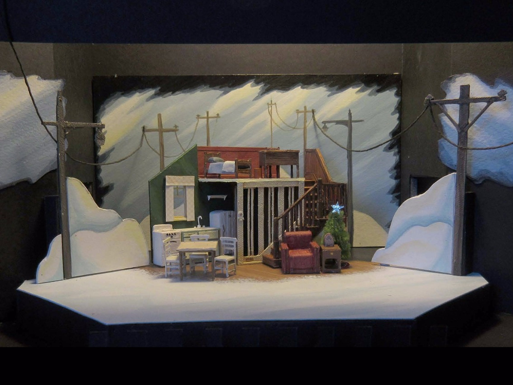 Carolyn Rapanos | Set Design, Scenic Painting, Props | Vancouver, BC