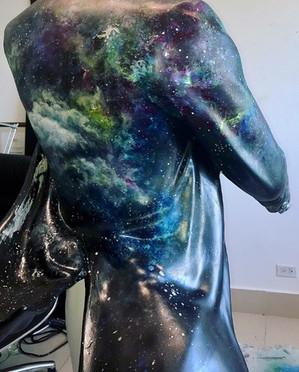 Sculpture of Johnnie Walker for MAC GALA 2018