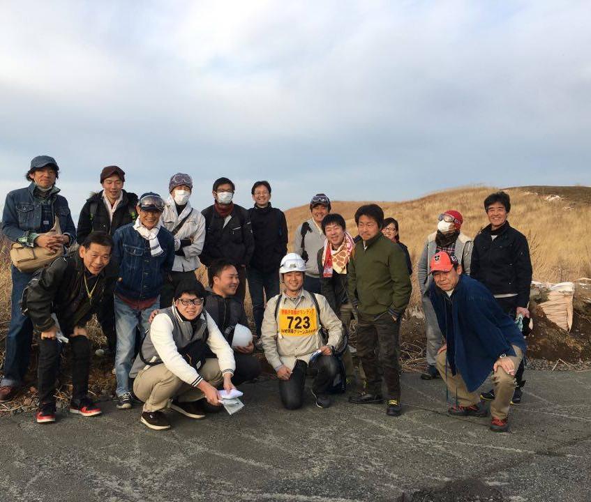 熊本市南倫理法人会野焼き参加11