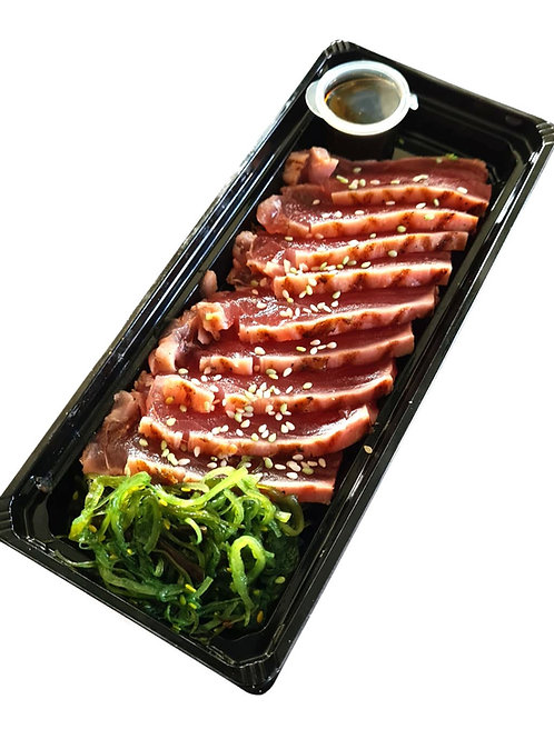 Sashimi  tonijn of sashimi zalm