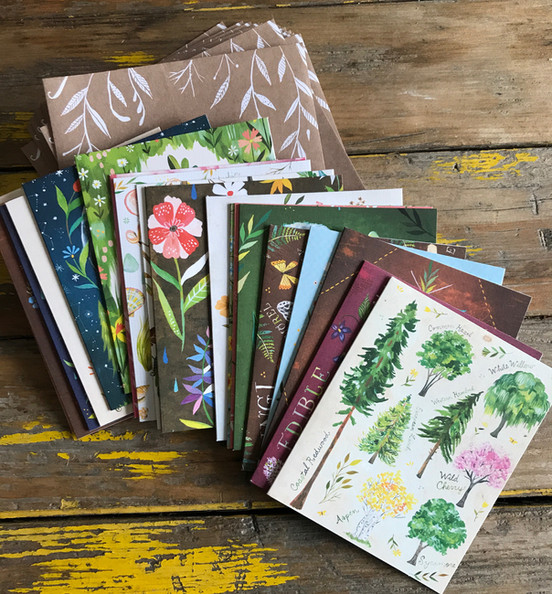 How to Be A Wildflower Notecards