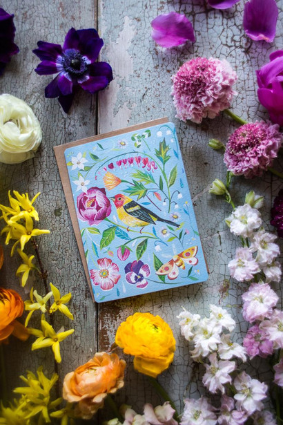 Tanager Greeting Card