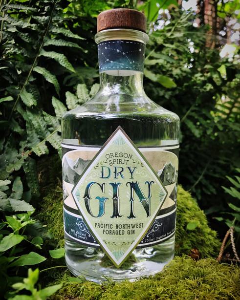Label for Oregon Spirit Distillers
