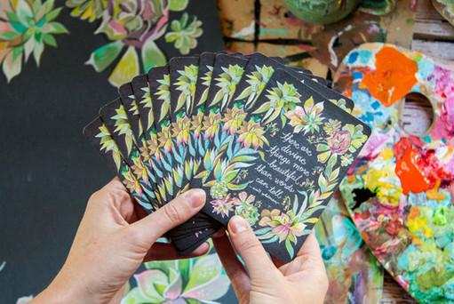 Divine Things Notecards