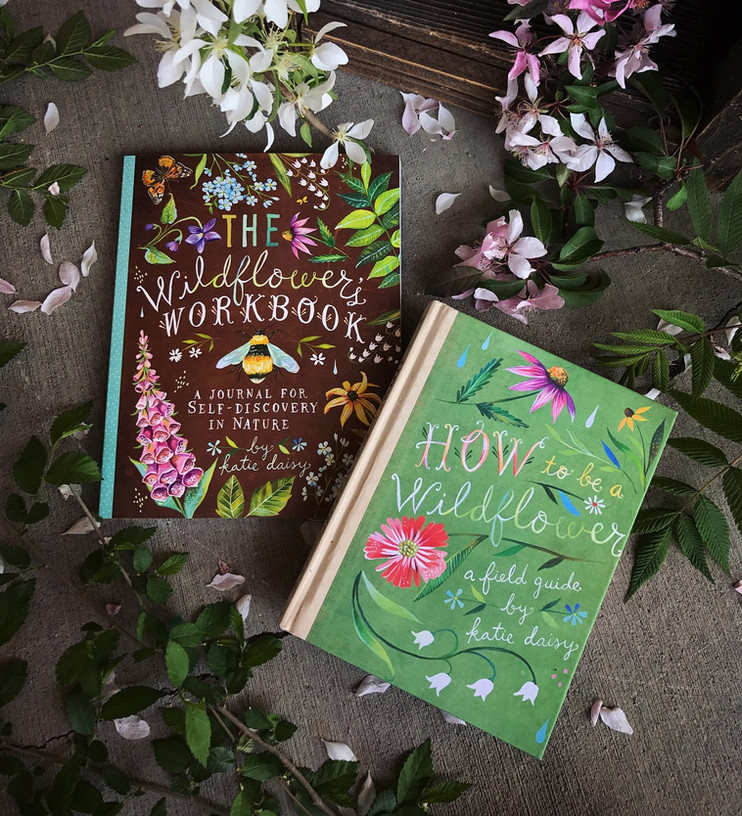 How to Be a Wildflower Book & Workbook